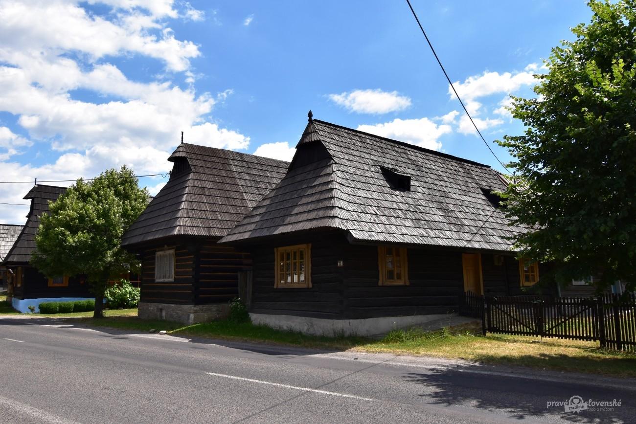 Malebná dedinka Podbiel