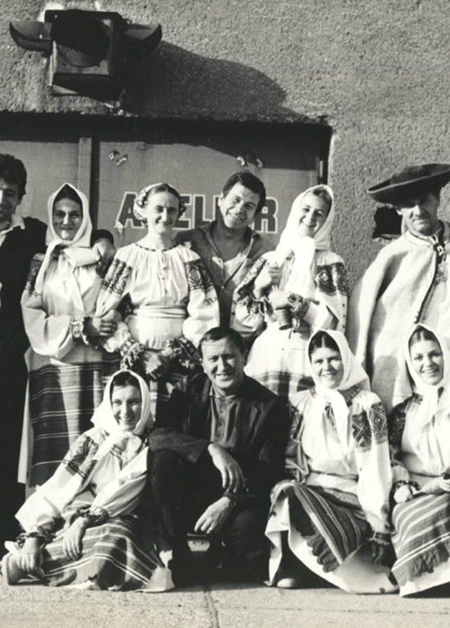 Folklórny súbor Praslica Kozárovce v rokoch 1965 - 1995