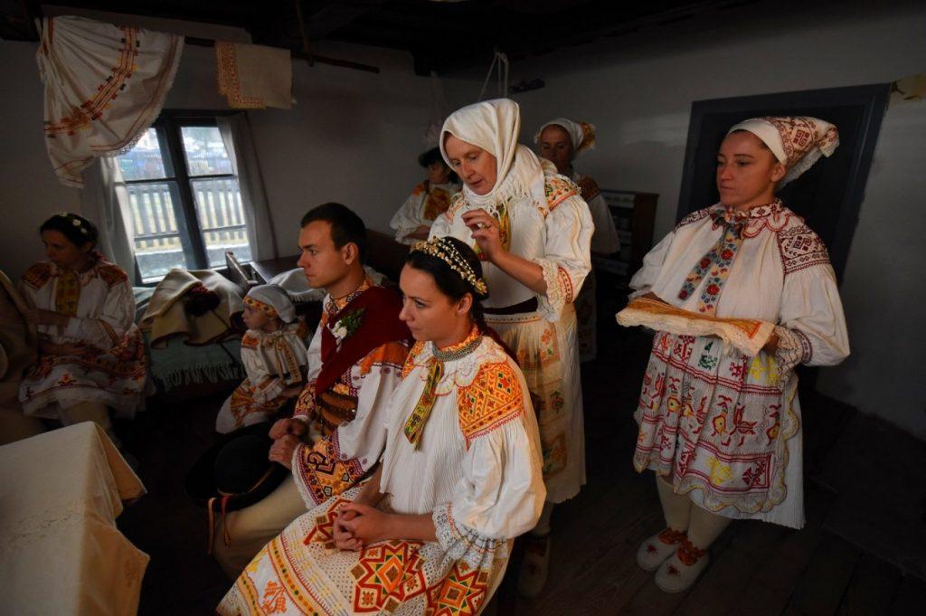 Čičmany - svadba